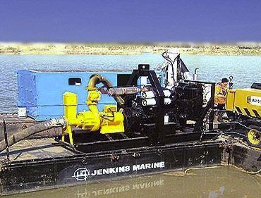Portable modular floating pontoons