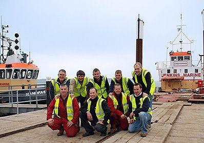 Jenkins Marine team