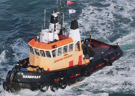 Jenkins Marine Motor Tug Handfast
