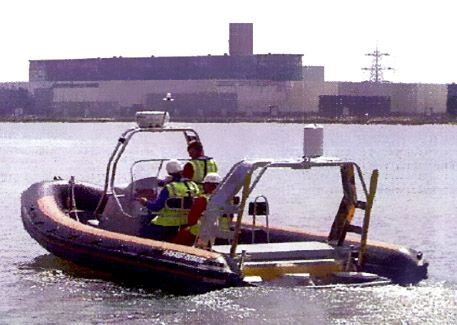 8.3m RIB rigid inflatable workboat