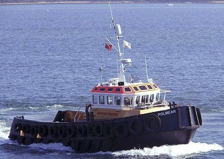 Jenkins Marine motor tug Polmear
