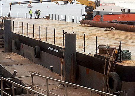 JML 5014 flat top pontoon barge