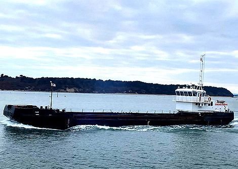 Nab self-propelled split hopper barge