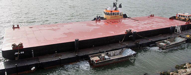 Deck cargo barge JML50