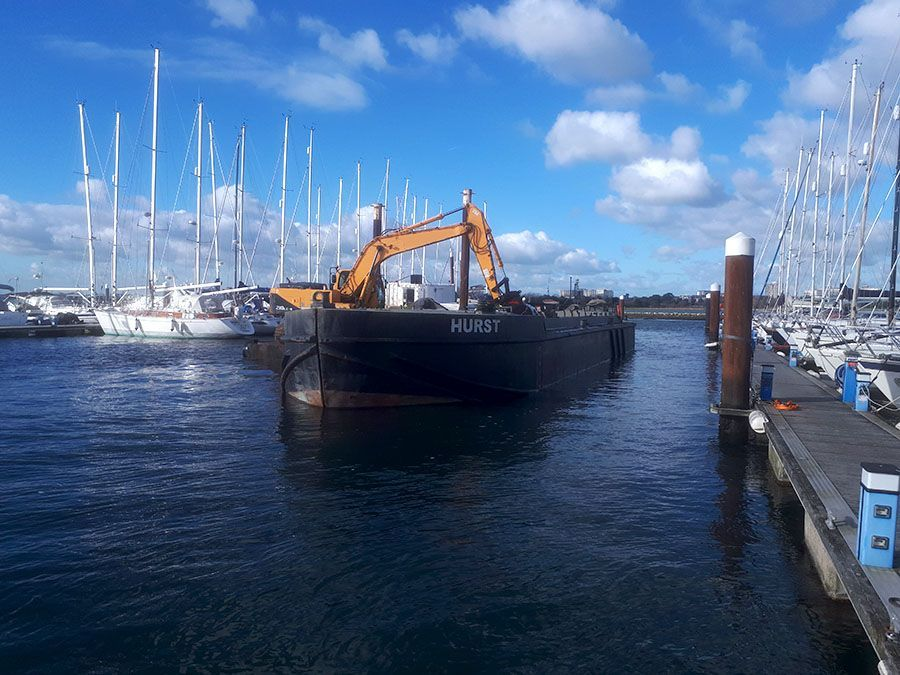 Dredging local in Poole