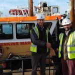 MD Dan Jenkins with New Commercial Manager Mark Elvy