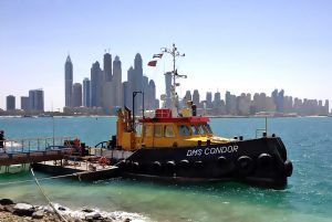 DMS Condor tugboat in the UAE