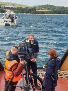 Neil Garrick-Maidment interview on tugboat Polmear